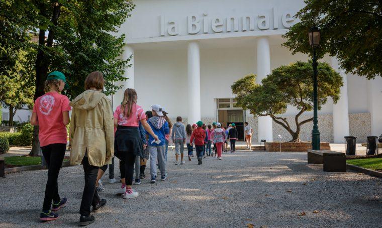 I laboratori per bambini alla Biennale di Venezia