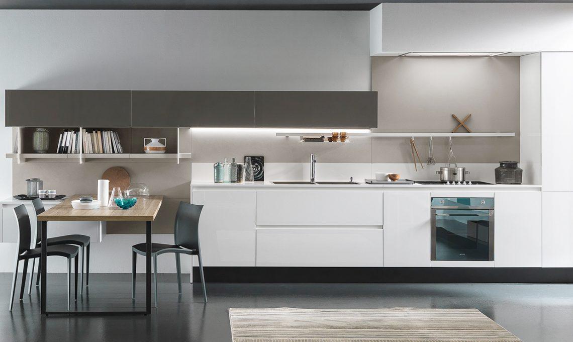 Piano di lavoro in cucina in okite casafacile - Piano cucina okite ...
