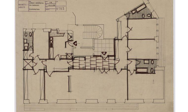 """""""Interni milanesi"""": disegni e progetti di Vico Magistretti"""