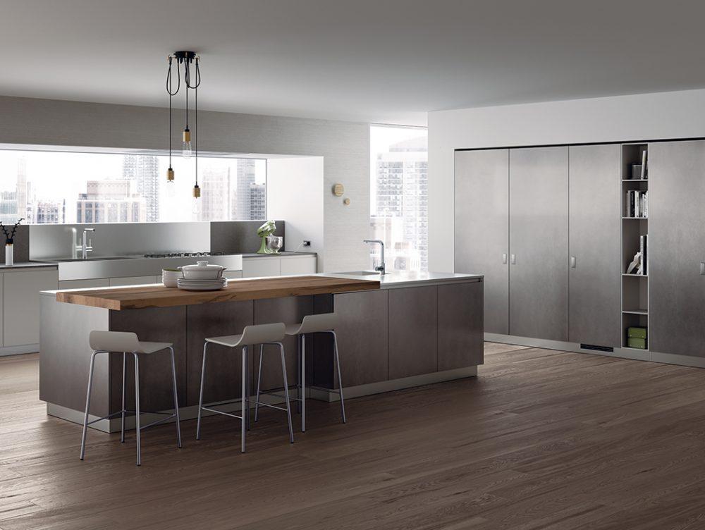 Piano di lavoro in cucina: il Lapitec® resistente e anti macchia