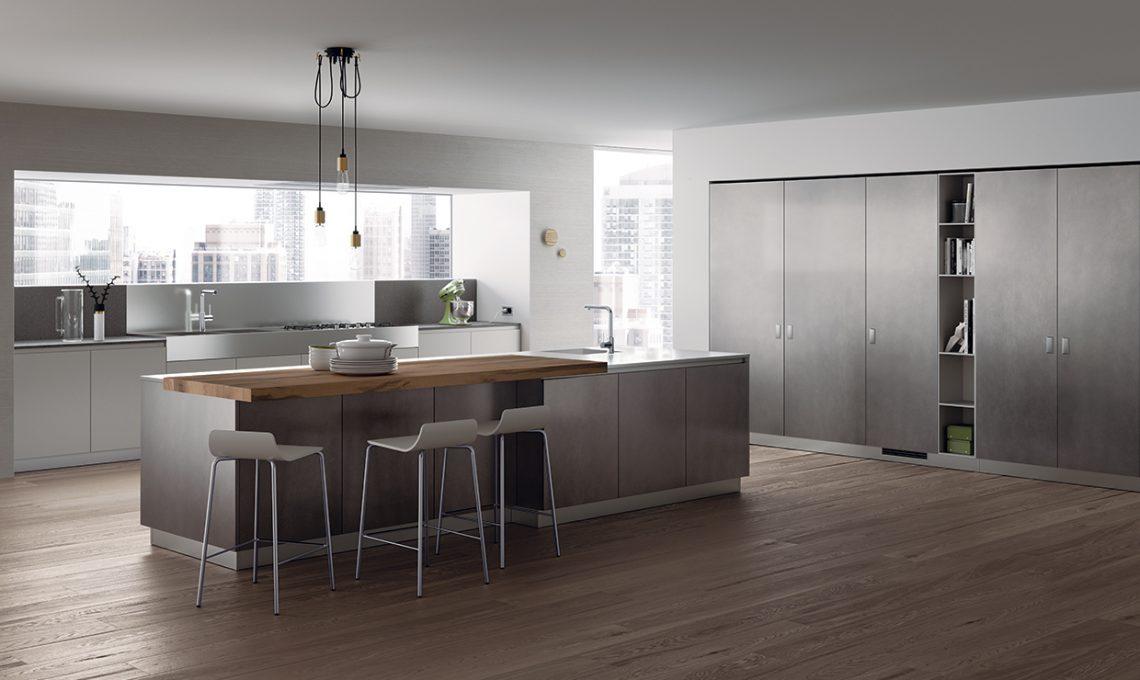 Piano di lavoro in cucina: il Lapitec® resistente e anti macchia ...