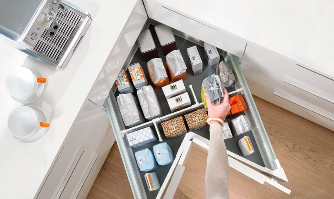 Credenza Cucina Con Cassetti : Come organizzare la dispensa casafacile