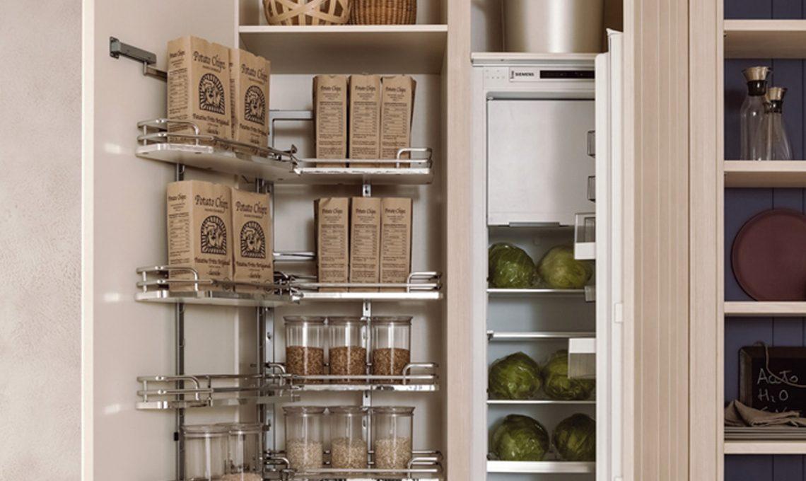 Come organizzare la dispensa casafacile - Organizzare dispensa della cucina ...