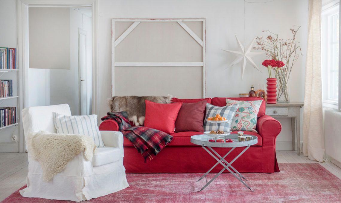 Personalizza il tuo divano ikea casafacile for Copridivano ektorp