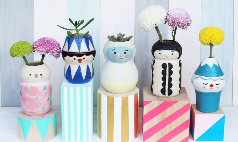 Polkaros, l'artista giapponese della ceramica