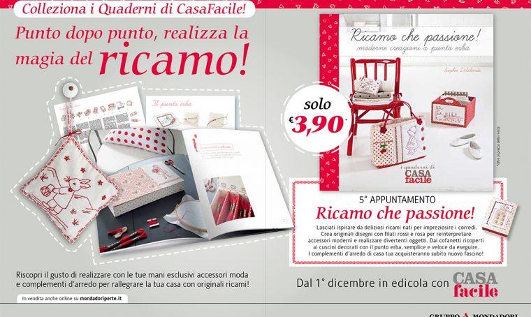 I Quaderni di CasaFacile: Ricamo che passione!