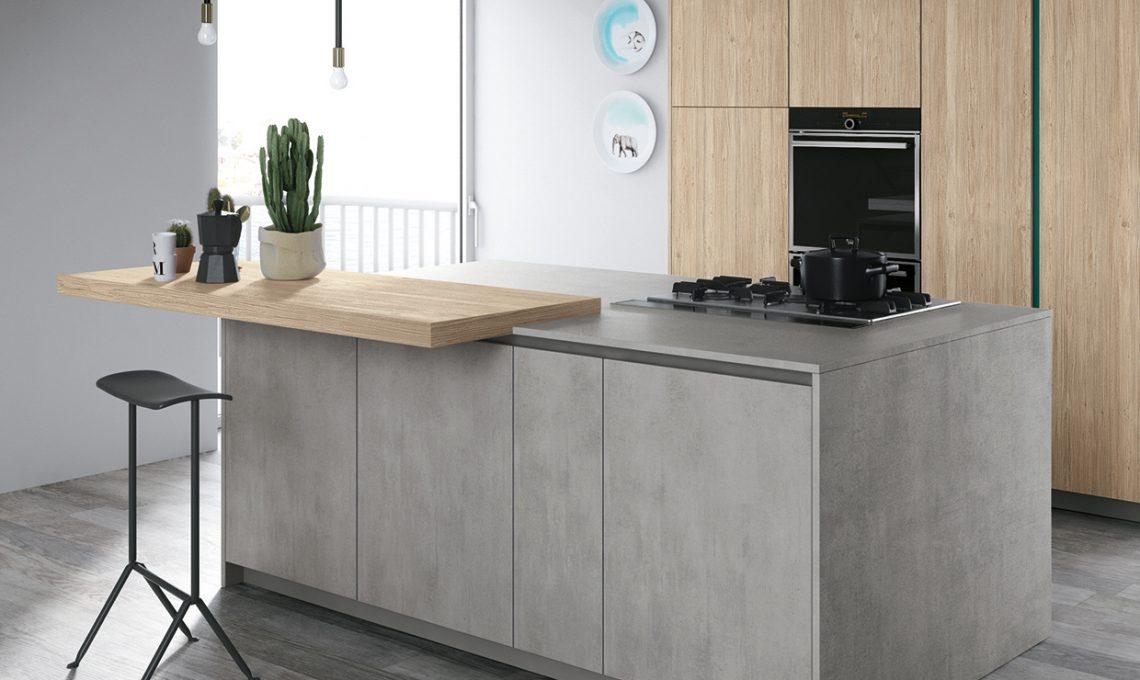 Piano di lavoro in cemento per la cucina - CASAfacile