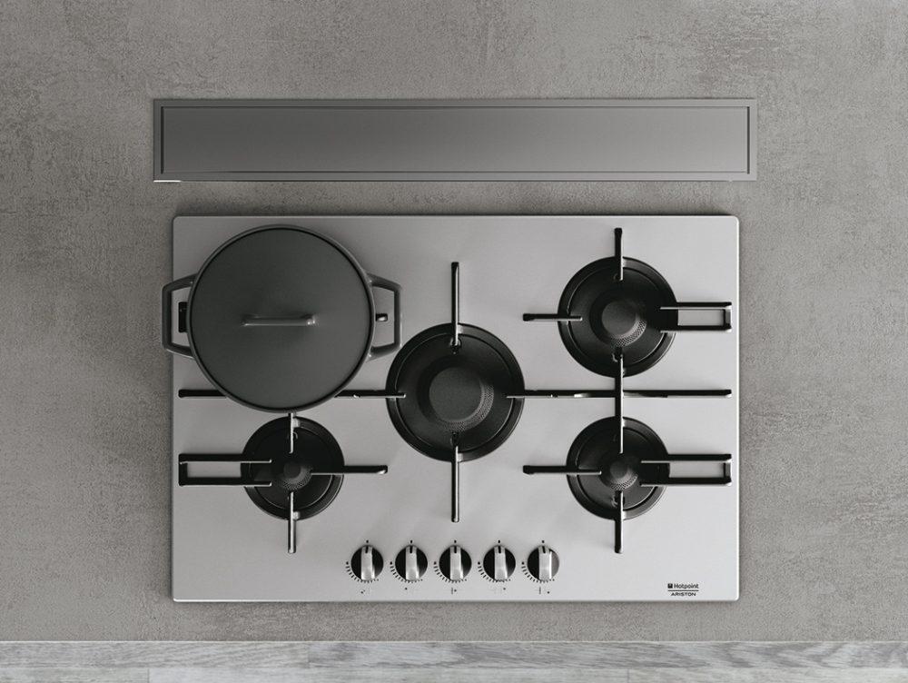 Piano di lavoro in cemento per la cucina
