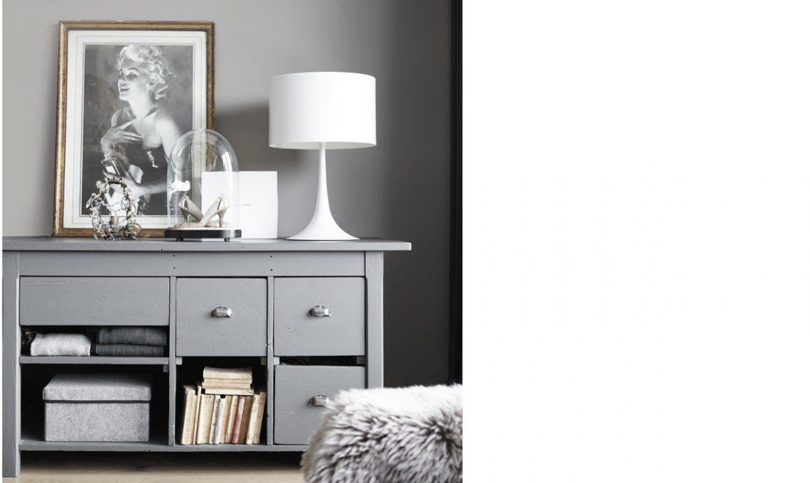 Pareti Grigie Mobili Legno : Arredare con pareti grigie e tanto legno casafacile
