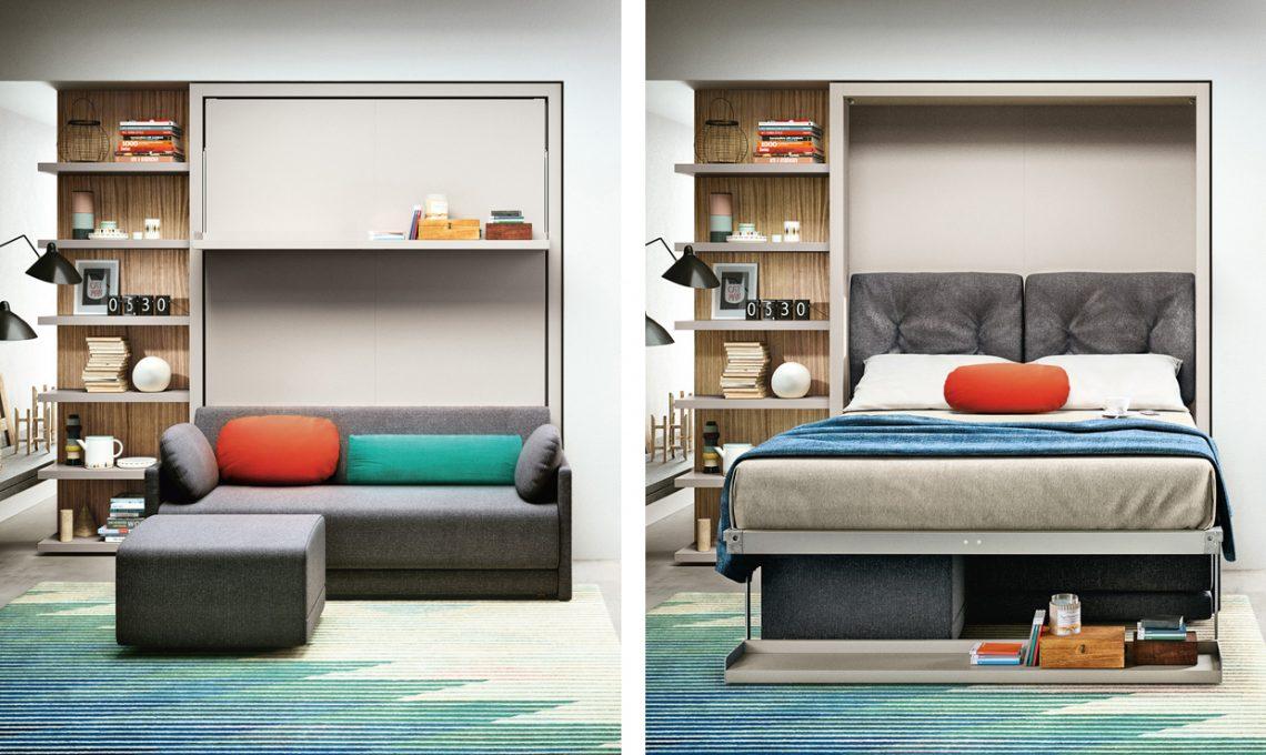 20 idee salvaspazio per case piccole casafacile for Arredamento per case piccole