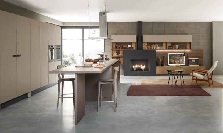 La cucina minimal è 100% conviviale