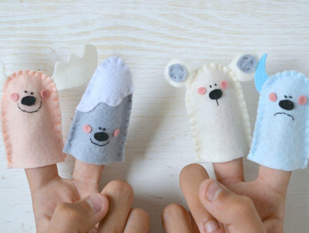 Come fare simpatiche marionette da dita per i bambini