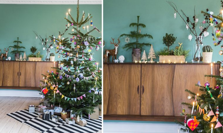 Arredare casa a Natale: l'albero e tanto verde