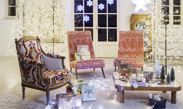 Decorazioni natalizie: luci, addobbi, tavole scintillanti