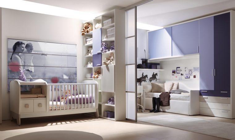 Arriva un secondo bebè? Dividi in due la cameretta