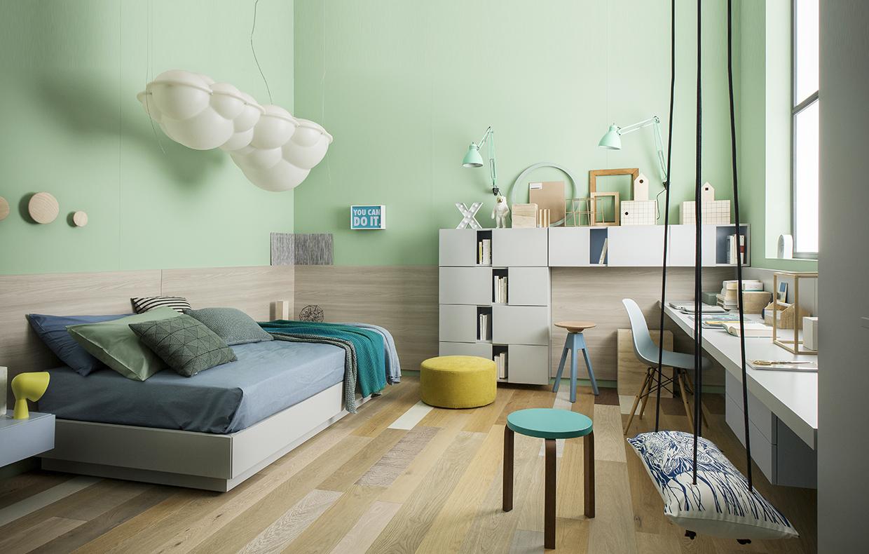 Mobili versatili per la cameretta casafacile for Arredare una camera piccolissima