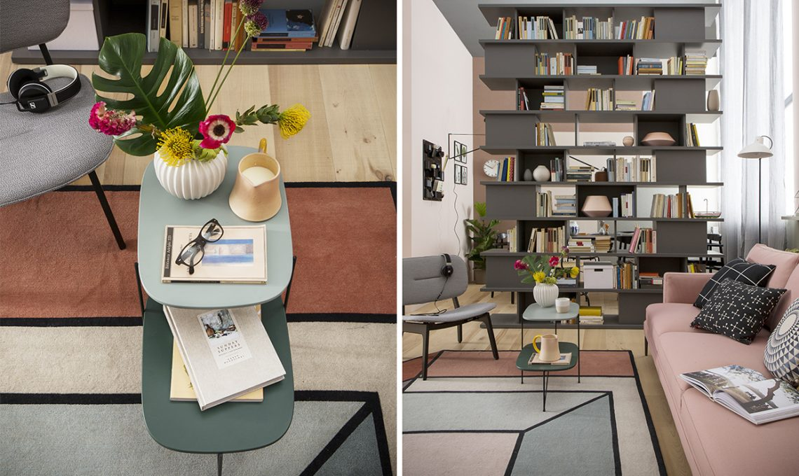 Assez Il soggiorno si fa in due con l'angolo studio - CASAfacile FR84
