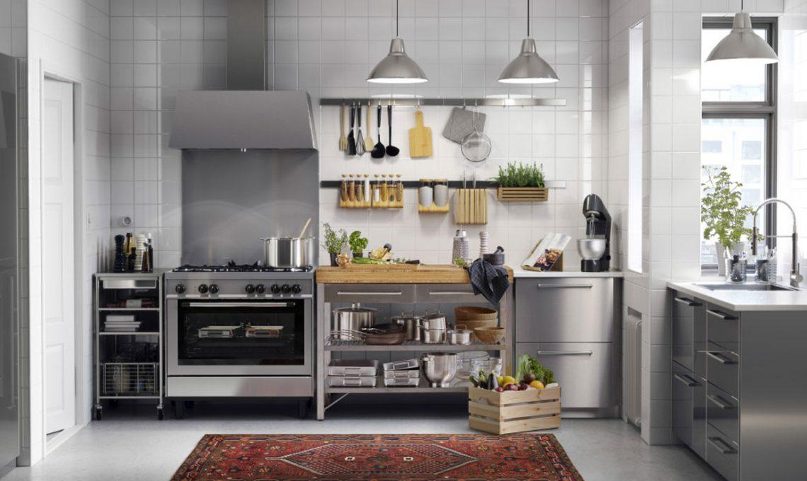Ikea Cucina Acciaio.Come Progettare La Tua Cucina Ikea Casafacile