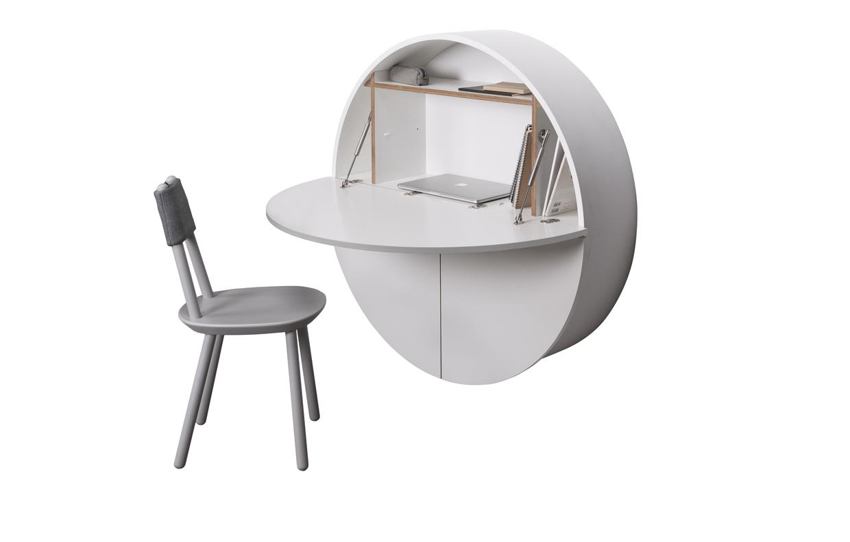 Ikea Scrittoio Con Ribaltina uno scrittoio a ribalta come (mini) home office! - casafacile