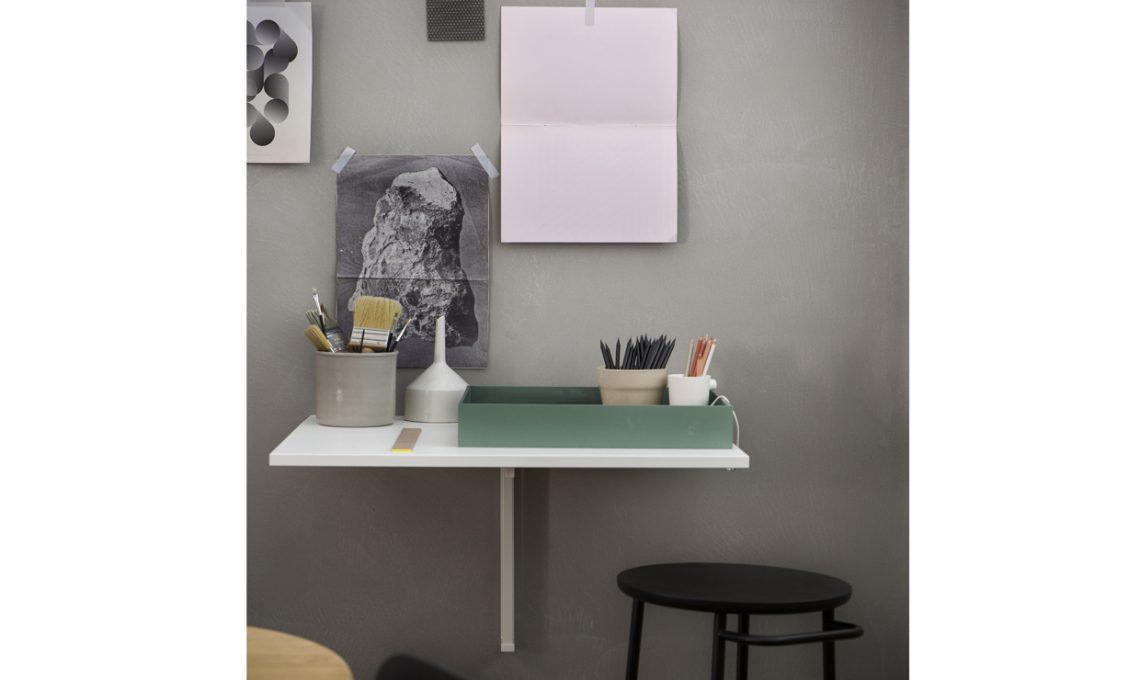 Uno scrittoio a ribalta come mini home office! casafacile