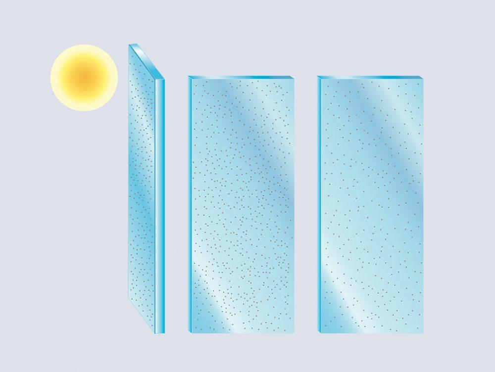 Ecco i vetri che si puliscono da soli e non si appannano