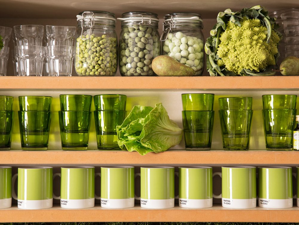 Una casa Pantone per tutti gli appassionati di design e green