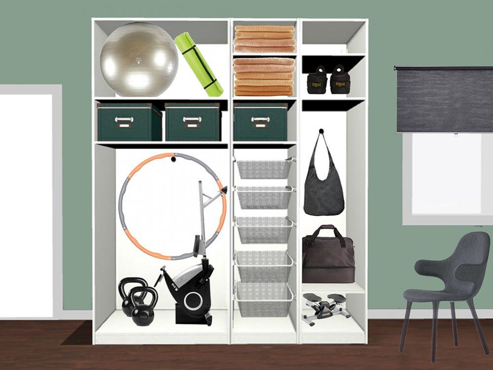 Come ricavare l'angolo palestra in casa