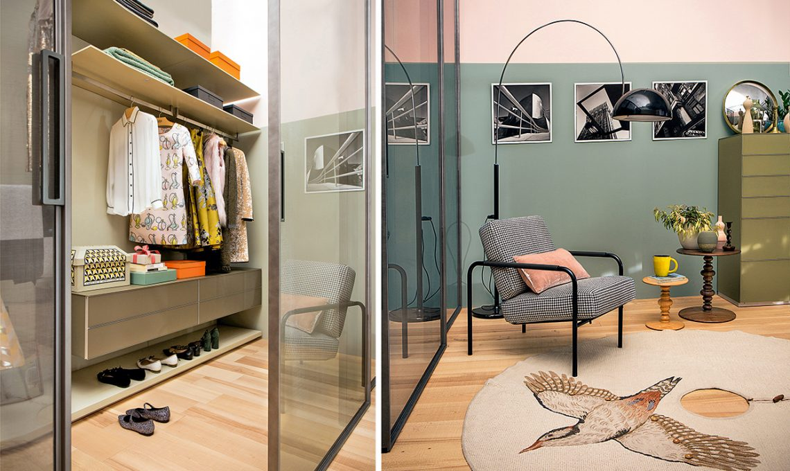 Camera Da Letto Al Femminile : Camera da letto al femminile con maxi cabina armadio casafacile