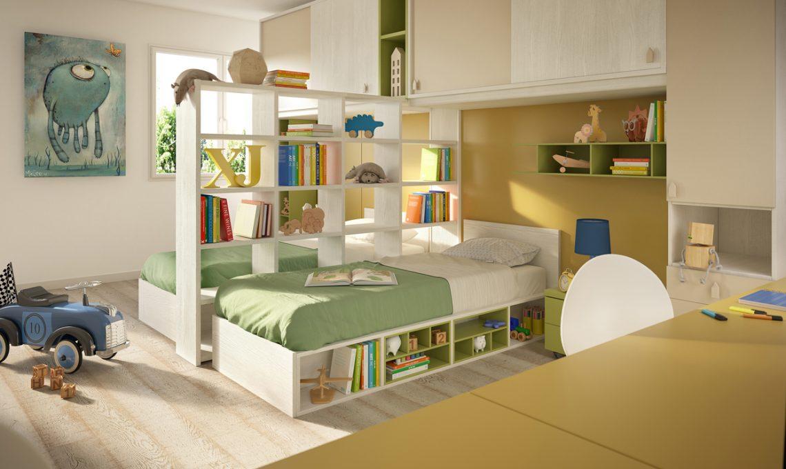 20 idee smart per la cameretta casafacile for Idee per arredare cameretta