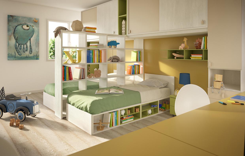 20 idee smart per la cameretta casafacile - Arredare camerette per bambini ...