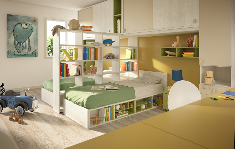 20 idee smart per la cameretta casafacile - Idee per pitturare una cameretta ...