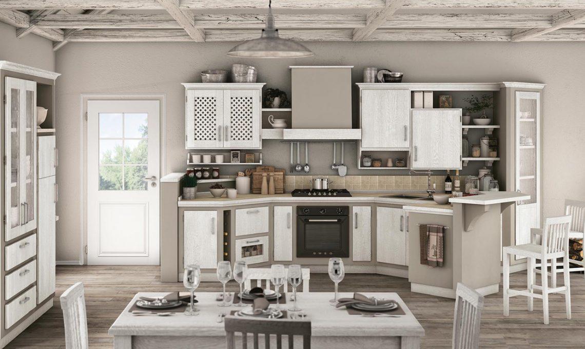 Cucina in muratura come si fa casafacile - Cucine in muratura lube ...