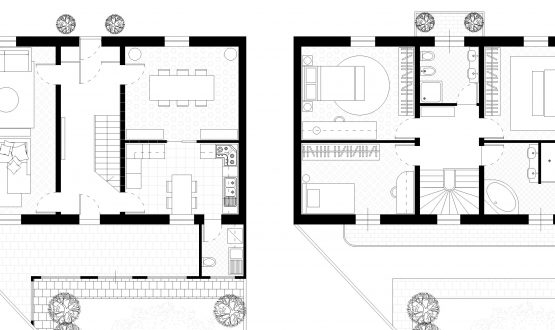 Progetto ristrutturazione casa di fine Ottocento.
