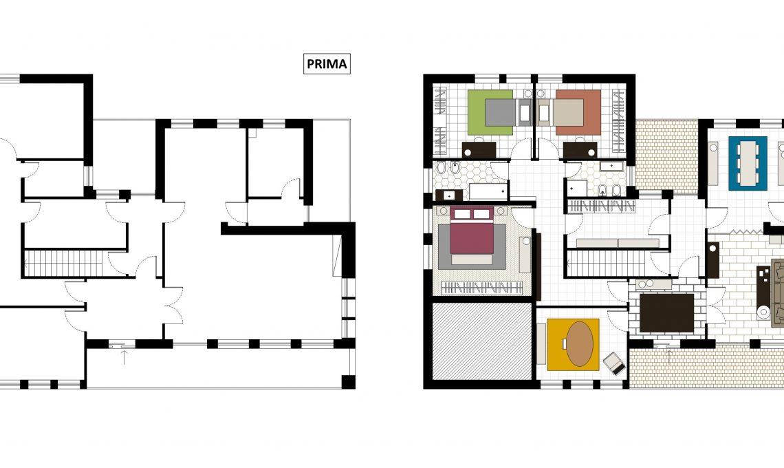 Top Progetto ristrutturazione casa anni '50. - CASAfacile NA65