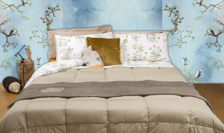Cambia look al letto ispirandoti alla natura!