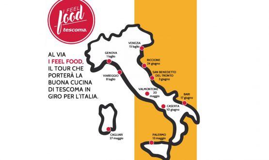 I feel food: il tour Tescoma 2017