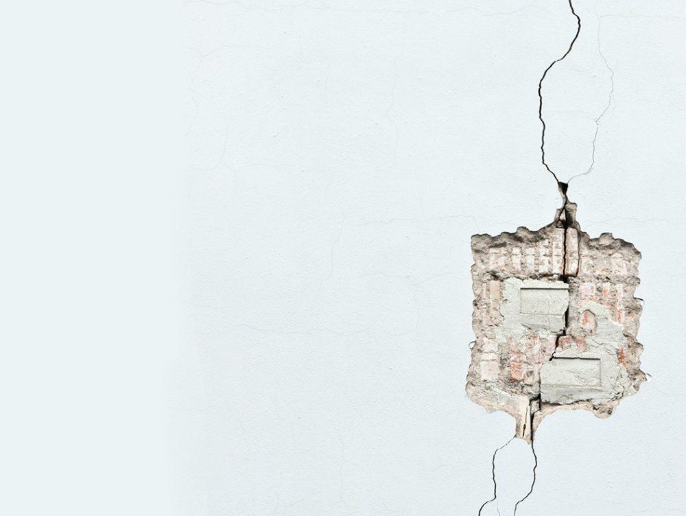 Crepe nel muro: cosa fare
