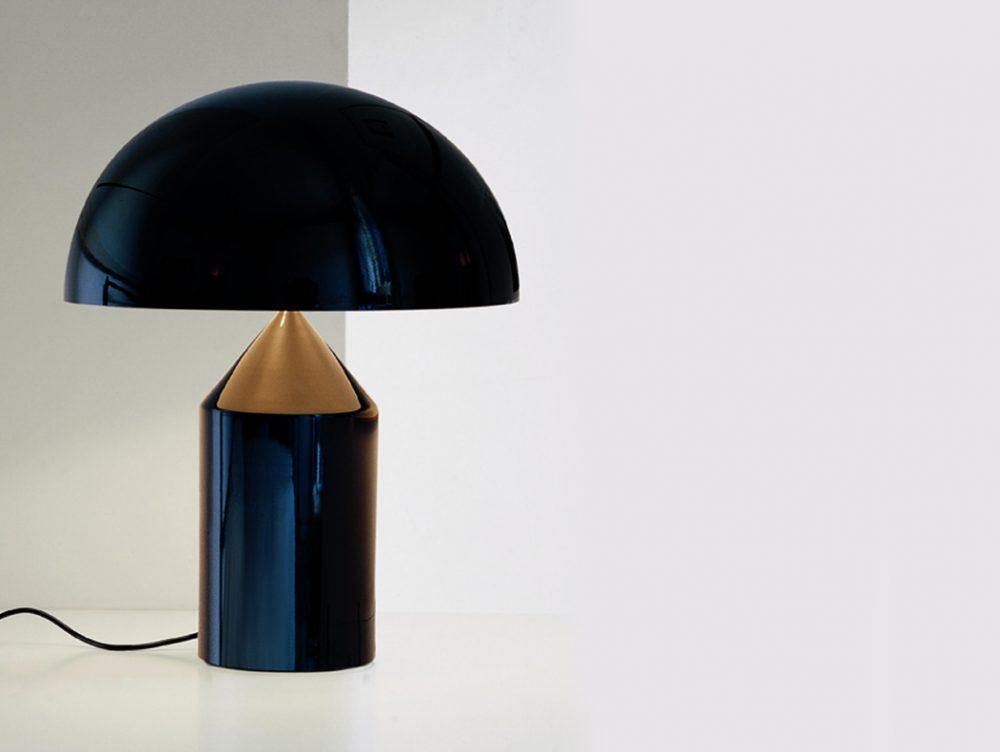 La lampada Atollo di Vico Magistretti