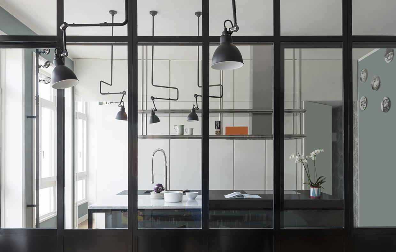 Parete vetrata la cucina a vista diventa protagonista - Cucine con vetrate ...