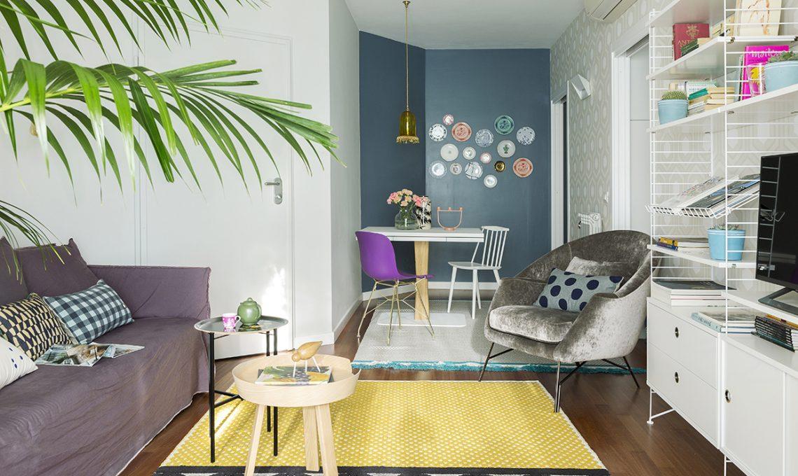 Pareti colorate e carta da parati: piccoli ritocchi e la casa cambia ...