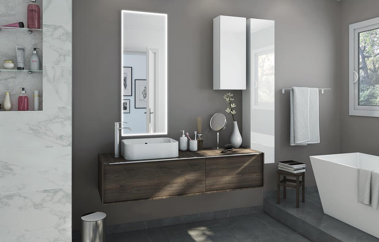 Colonne Neo Leroy Merlin mobile bagno: scegli la combinazione nel tuo stile - casafacile
