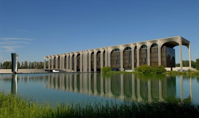 Visita alla sede Mondadori firmata da Oscar Niemeyer