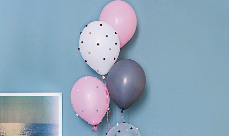 Decorazioni per la festa: palloncini fai-da-te