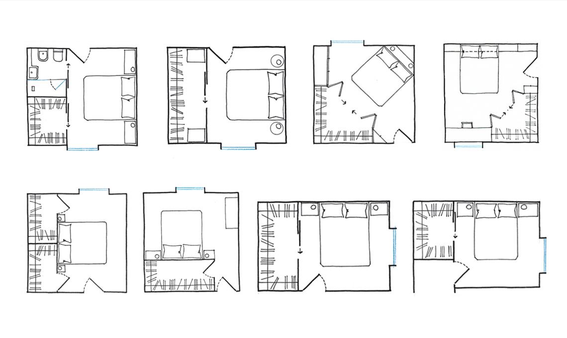 Tanti progetti per la tua camera: crea la cabina armadio dei tuoi sogni!