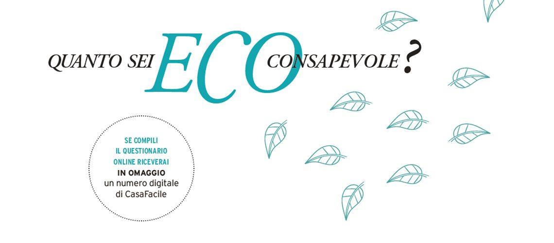 Quanto sei eco-consapevole? Rispondi al sondaggio
