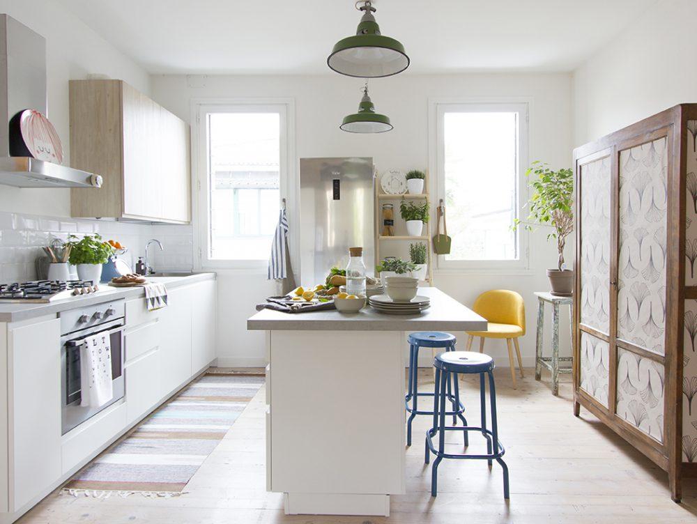 A casa della blogger: stile nordico in un appartamento d'epoca