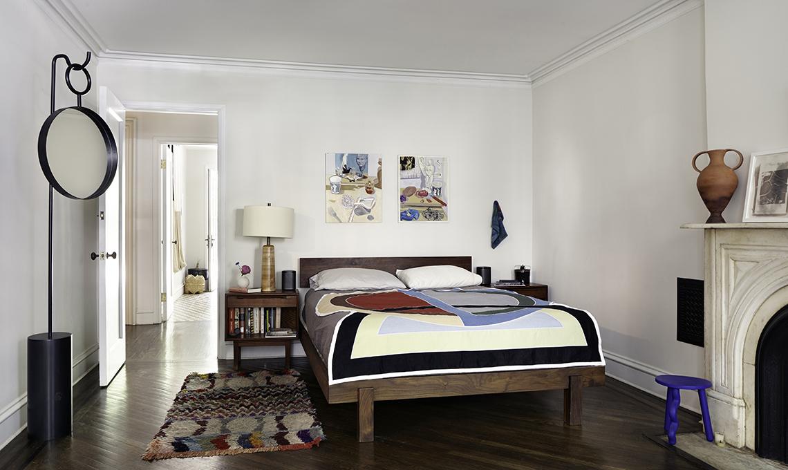 camera da letto casa epoca new york
