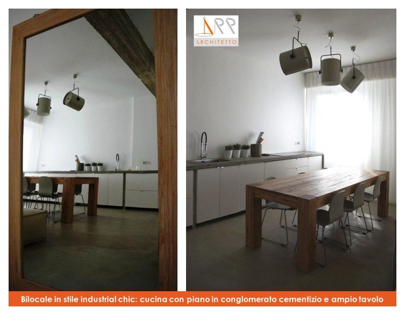 Favoloso Bilocale in stile industrial chic con pavimento in resina - CASAfacile YP37