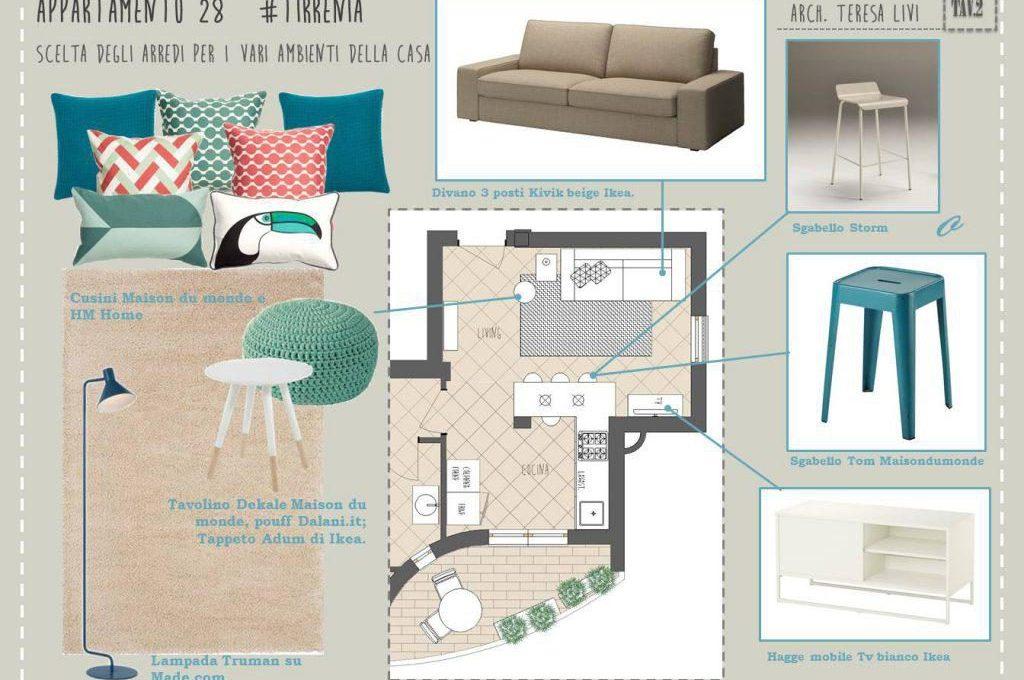 Arredamento Soggiorno Casa Al Mare : Progetto darredo per appartamento al mare casafacile