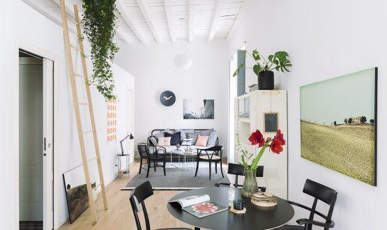 Soluzioni funzionali per il monolocale casa-studio